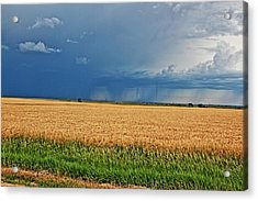 Storms On The Plains Acrylic Print by Jason Drake