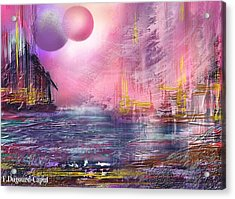 Stormway Acrylic Print by Francoise Dugourd-Caput