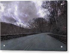 Stormy Blue Ridge Parkway Acrylic Print by Betsy Knapp