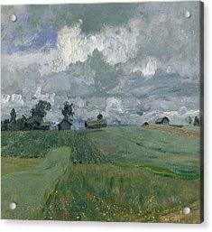 Stormy Day Acrylic Print by Isaak Ilyich Levitan
