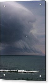Stormy Days Acrylic Print by Bruce Bley