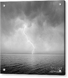 Stormy Night  Acrylic Print by Dave Gordon