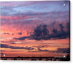 Stormy Skies Acrylic Print by Dora Sofia Caputo Photographic Art and Design