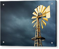 Stormy Skies Acrylic Print by Todd Klassy