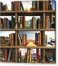 Storyworld Acrylic Print by Cynthia Decker