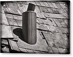 Stove Pipe Acrylic Print by Kelley King
