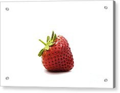 Strawberry II Acrylic Print by Natalie Kinnear