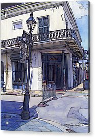 Street Corner 214 Acrylic Print by John Boles