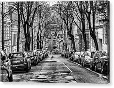 Street Acrylic Print by Oleksandr Maistrenko
