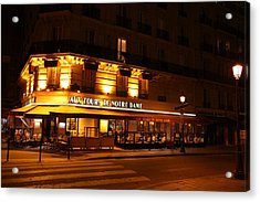 Street Scenes - Paris France - 011324 Acrylic Print by DC Photographer