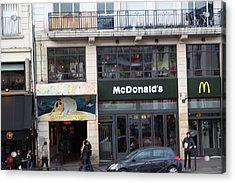 Street Scenes - Paris France - 011351 Acrylic Print by DC Photographer