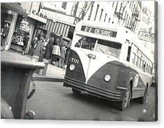 Streetcar Named Desire Acrylic Print by Cynthia Decker