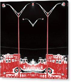 Streetlight Serenade 3 Acrylic Print by Wendy J St Christopher