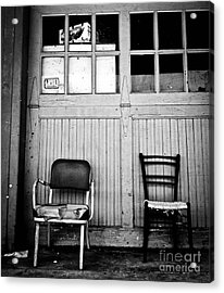 Strip District Doorway Number Eight Acrylic Print by Amy Cicconi