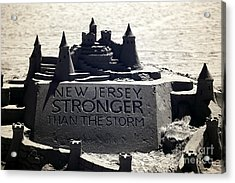 Stronger Than The Storm Acrylic Print by John Rizzuto