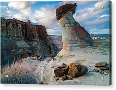 Stud Horse Point 2 Acrylic Print by Larry Marshall