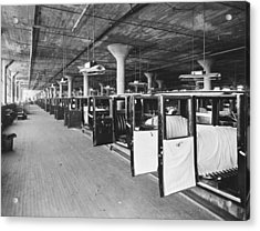 Studebaker Assembly Factory Acrylic Print by Underwood Archives