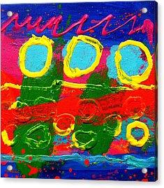 Sub Aqua IIi - Triptych Acrylic Print by John  Nolan