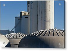 Sugar Factory Acrylic Print by Jim West