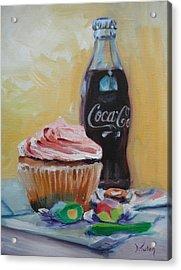Sugar Overload Acrylic Print by Donna Tuten