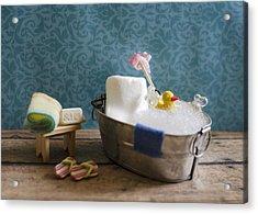 Sugar Scrub Acrylic Print by Heather Applegate
