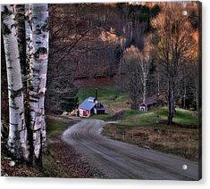 Sugar Shack - Reading Vermont Acrylic Print by Thomas Schoeller