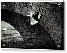 Suicide Acrylic Print by British Library