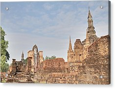 Sukhothai Historical Park - Sukhothai Thailand - 011316 Acrylic Print by DC Photographer