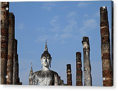 Sukhothai Historical Park - Sukhothai Thailand - 011338 Acrylic Print by DC Photographer