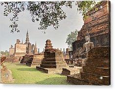Sukhothai Historical Park - Sukhothai Thailand - 01135 Acrylic Print by DC Photographer