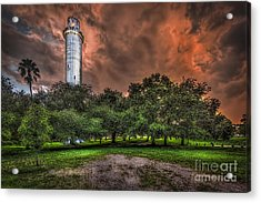 Sulfur Springs Tower Acrylic Print by Marvin Spates