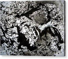 Sumi-e 130422-1 Acrylic Print by Aquira Kusume