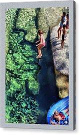 Summer At Yosemite Acrylic Print by Jeff Breiman