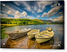 Summer Boating Acrylic Print by Adrian Evans