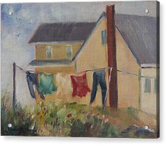 Summer Breeze Acrylic Print by Debbie Lamey-MacDonald