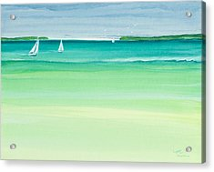 Summer Breeze Acrylic Print by Michelle Wiarda