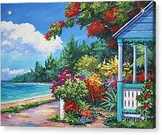 Summer Colors Acrylic Print by John Clark