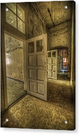 Summer Doors Acrylic Print by Nathan Wright