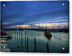 Summer Harbor Acrylic Print by EXparte SE
