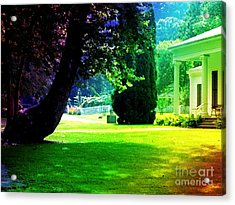 Summer House Acrylic Print by Michelle Stradford