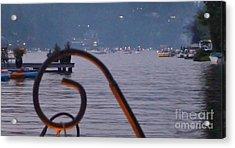 Summer Lake Twinkles Acrylic Print by Susan Garren