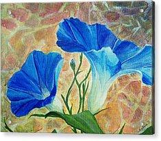 Summer Morning Acrylic Print by Arlissa Vaughn