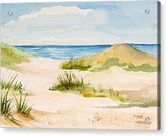 Summer On Cape Cod Acrylic Print by Michelle Wiarda
