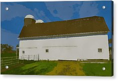 Summer On The Farm Pop Art Acrylic Print by Dan Sproul