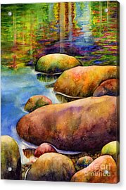 Summer Tranquility Acrylic Print by Hailey E Herrera