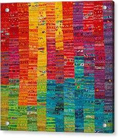 Summer Vibrations Acrylic Print by Susan Rienzo