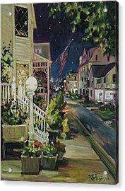 Summer Walk Home Acrylic Print by MG Ferguson