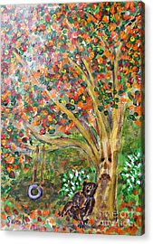 Summer Went By Too Quickly Acrylic Print by Sarah Loft