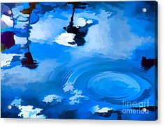 Summertime Blue Acrylic Print by Robyn King