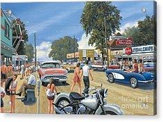 Summertime Acrylic Print by Michael Swanson
